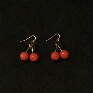 Cute Cherry Earrings